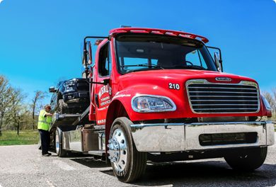 Merl's Towing Service – One call does it all